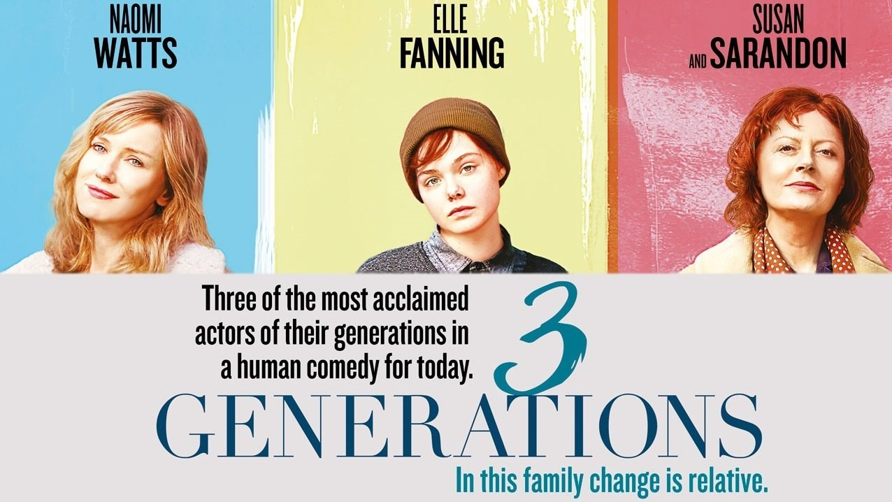 6 clips of 3 generations teaser trailer