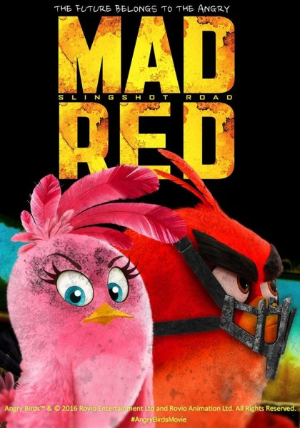 Angry Birds goes Mad Max!