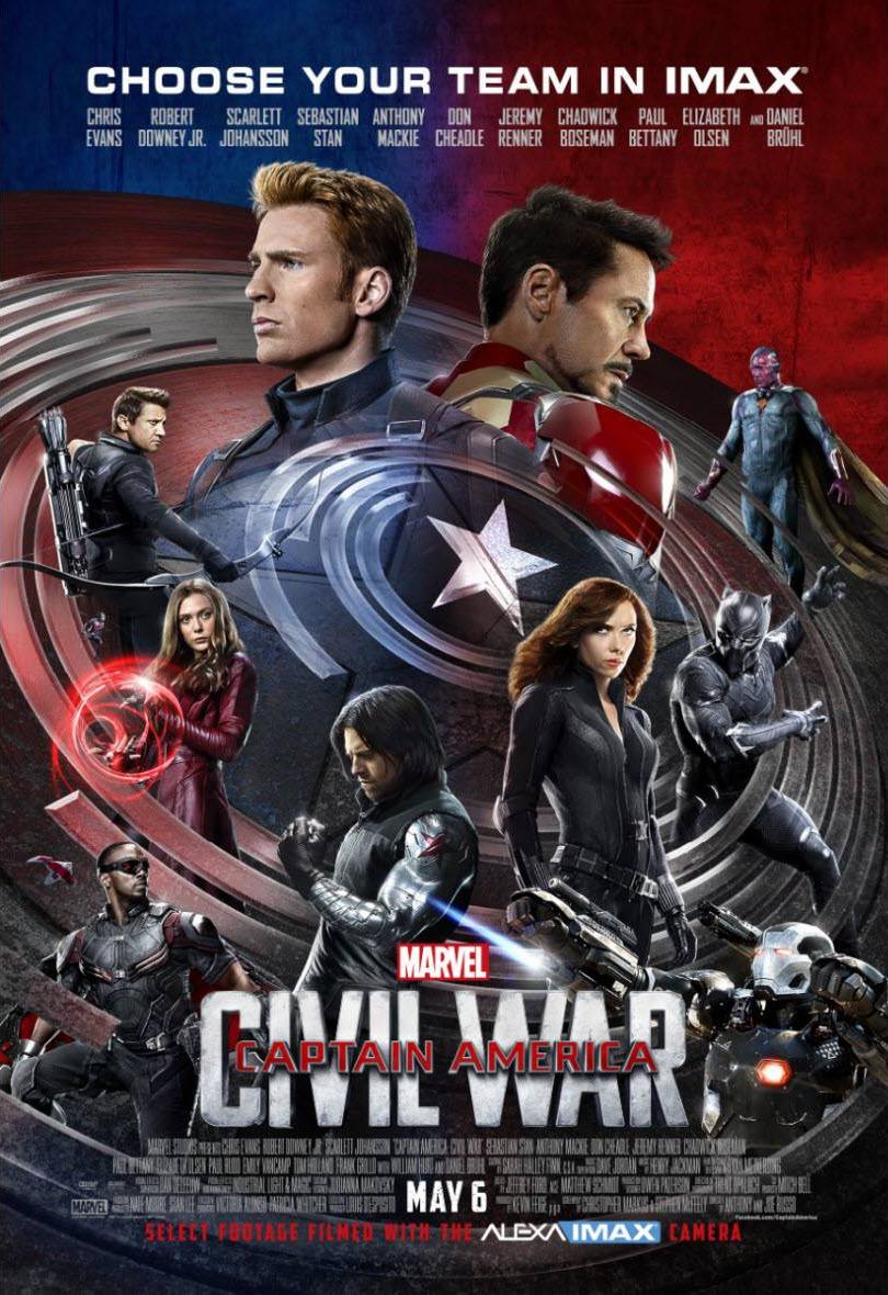 Captain america civil war movie 2 new clips