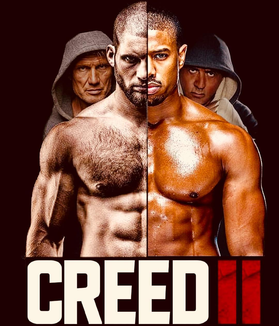Creed 2 Movie Poster Shared By Sylvester Stallone Fan Made Teaser Trailer