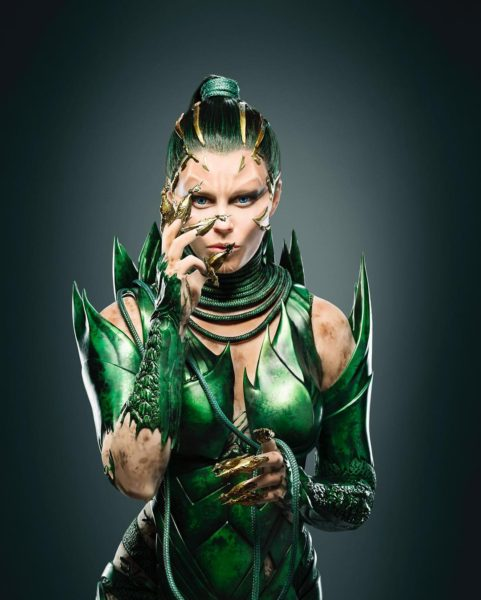 Elizabeth Banks as Rita Repulsa - Power Rangers Movie