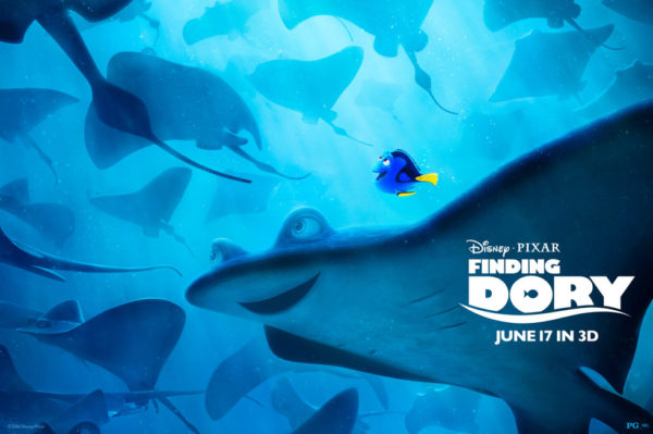 Finding Dory 2016 Disney Pixar Movie