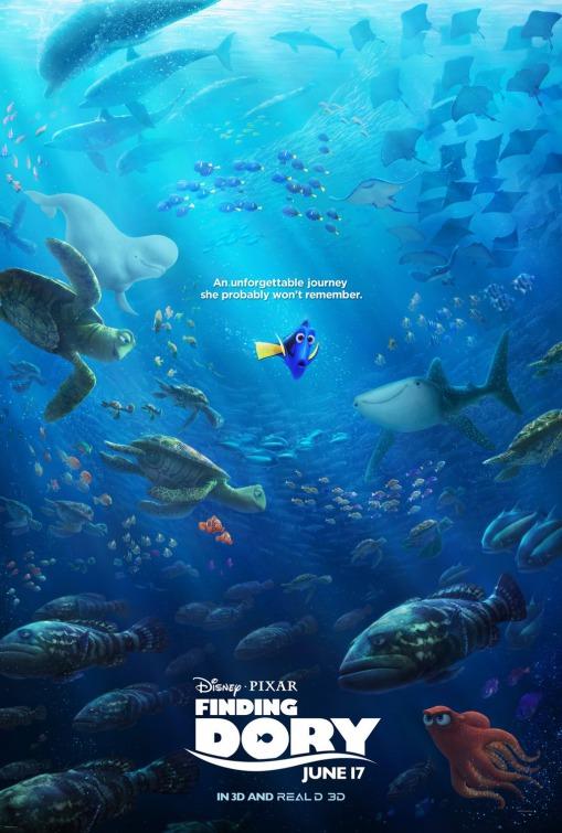 Finding dory teaser trailer for Dory fish movie