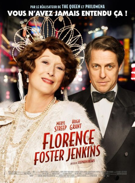 Florence Foster Jenkins - French movie poster