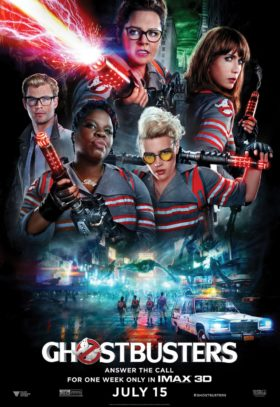 Ghostbusters Imax poster