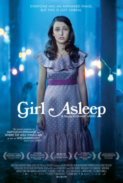 Girl Asleep US movie poster