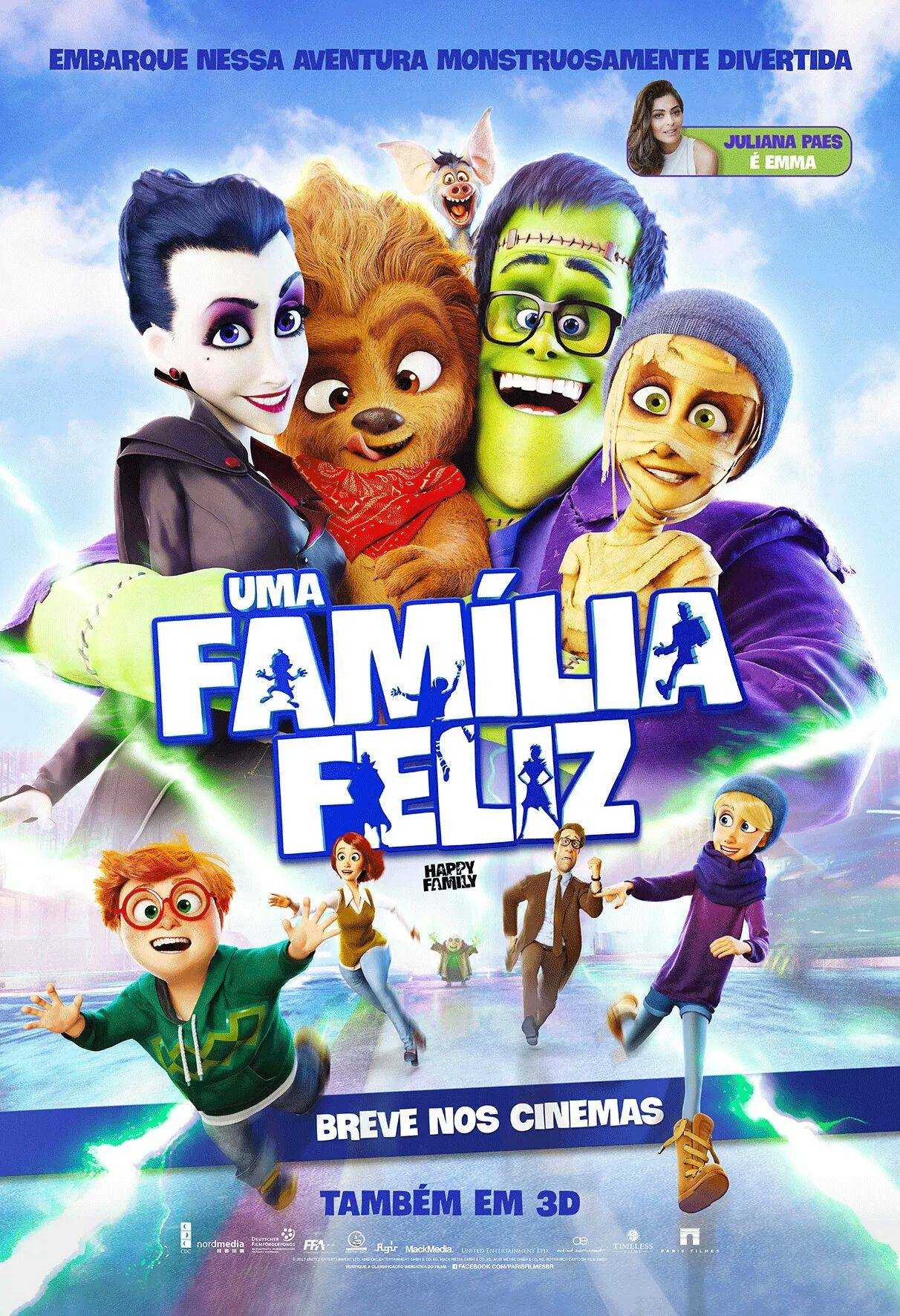 All Family Movies 2017 happy family movie poster : teaser trailer