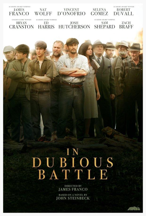 """""""In Dubious Battle"""" (J. Franco), d'aprés Steinbeck In-Dubious-Battle-Teaser-Poster"""