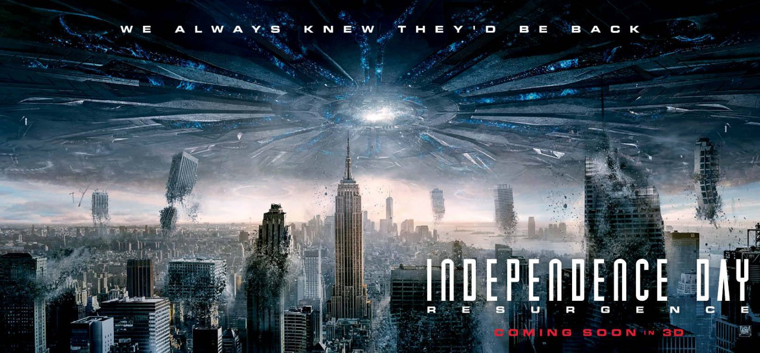 of Independence Day 2 Resurgence thanks to this new BRoll video