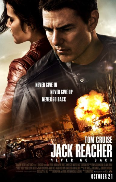 Jack Reacher 2 Never Go Back Movie Poster