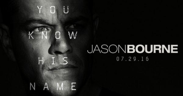 Jason Bourne - July 2016 movie