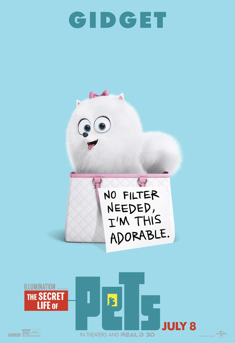 the secret life of pets character posters teaser trailer