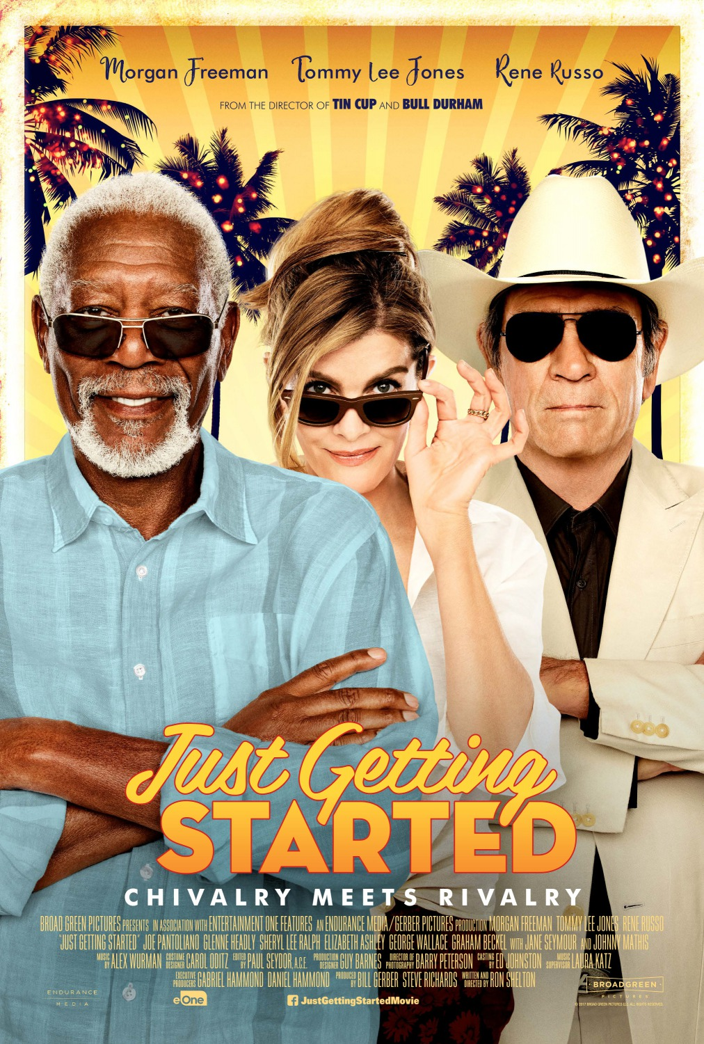Image result for just getting started movie poster