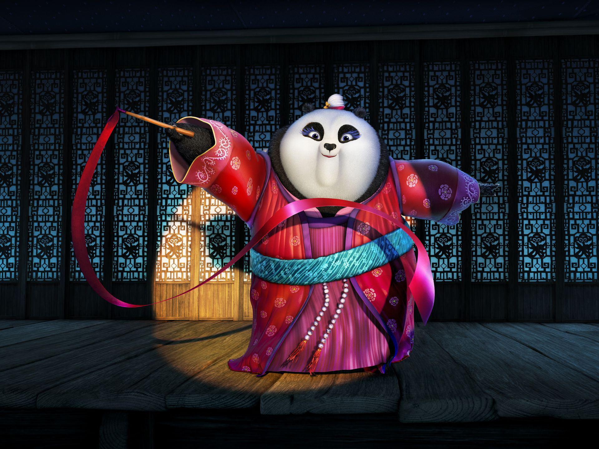 fu panda kung trailer movie mei po teaser tigress voice film voices