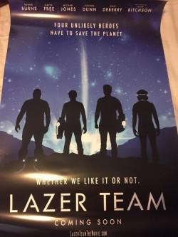 Lazer Team new poster