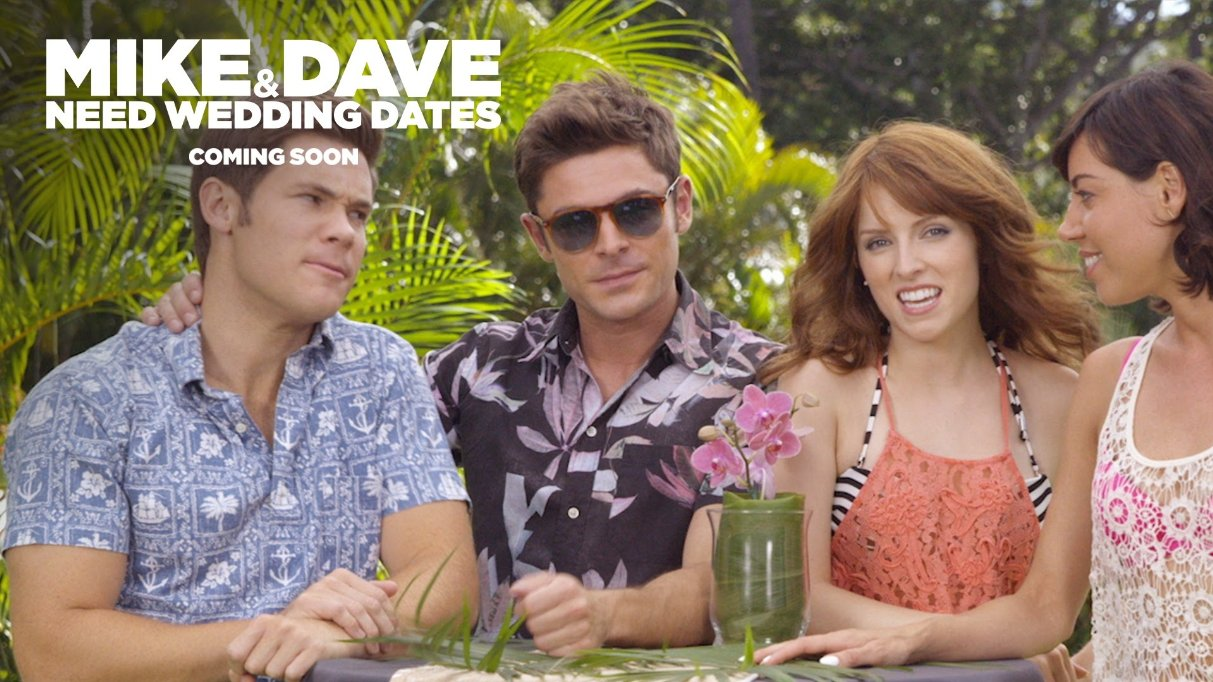 mike and dave need wedding dates movie viral video a r