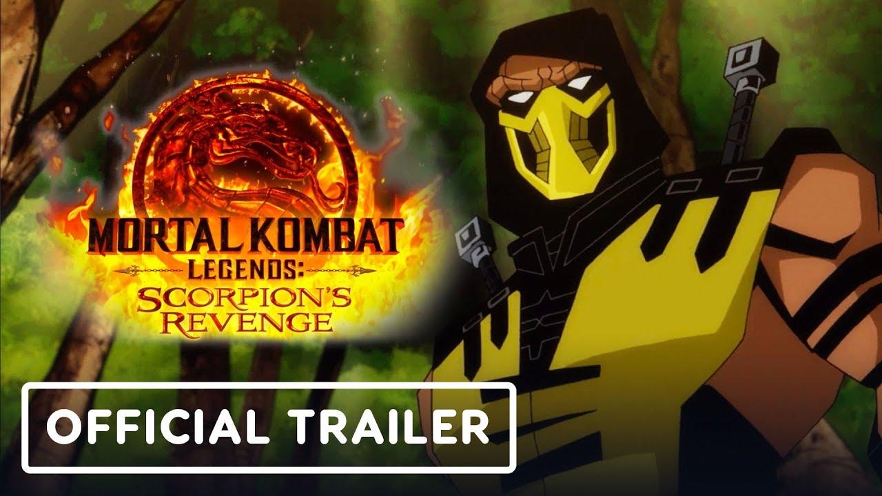 Mortal Kombat Legends Scorpion S Revenge Movie Trailer Teaser