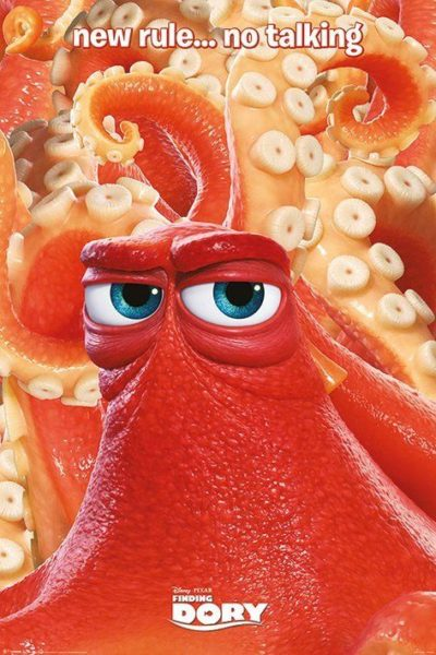 New Rule Not talking - Finding Dory