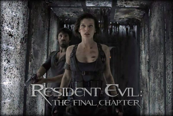 Resident Evil 6 The Final Chapter Movie 2017