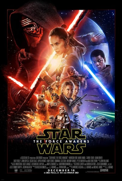 Star Warsz 7 The Force Awakens New Poster - 2015 Movies