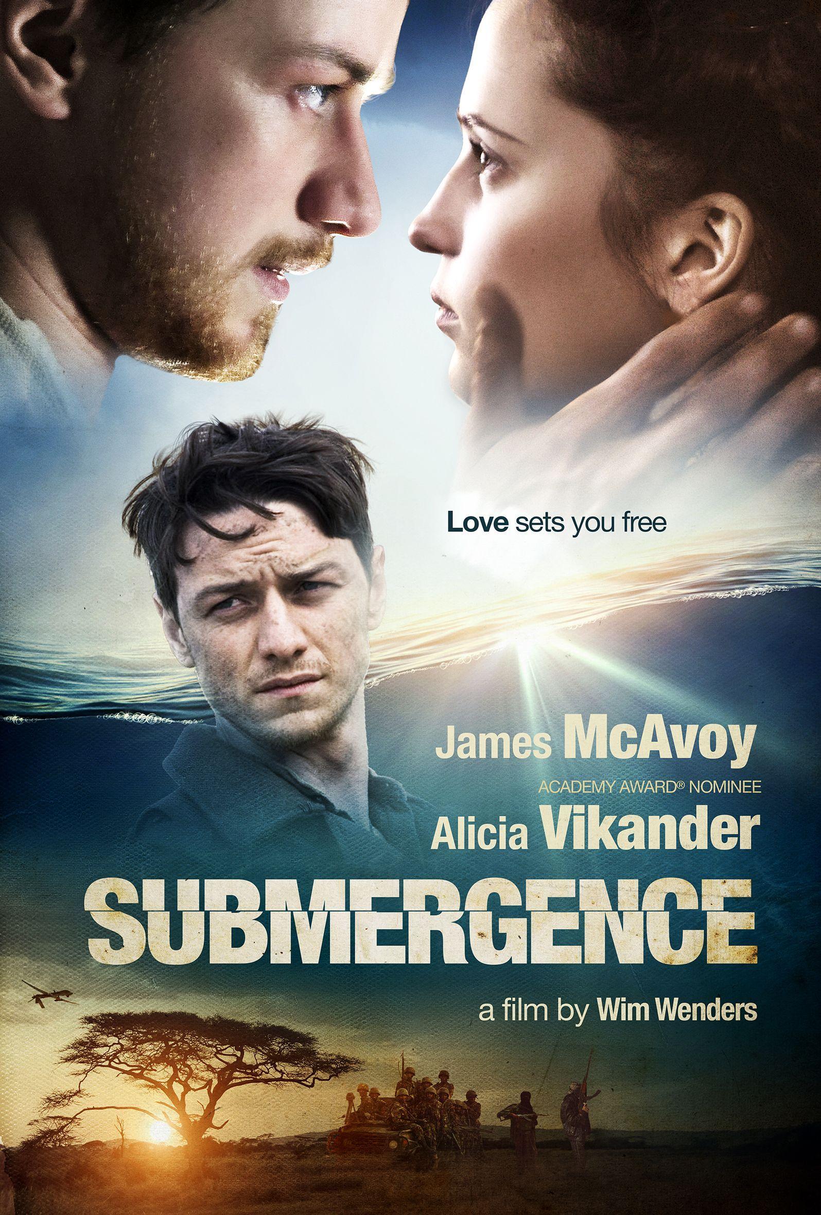 Resultado de imagen para submergence poster