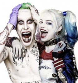 Suicide Squad Movie Joker and Harley Quinn