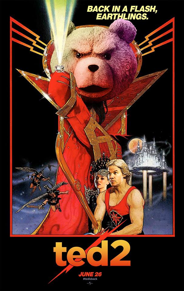 Ted 2 Logo Porte-carte Movie Poster Officiel