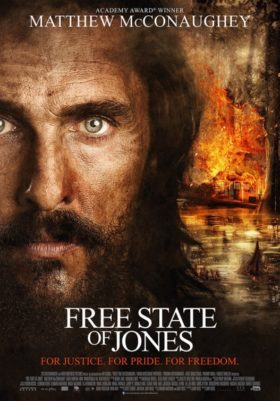 The Free State of Jones Firery poster