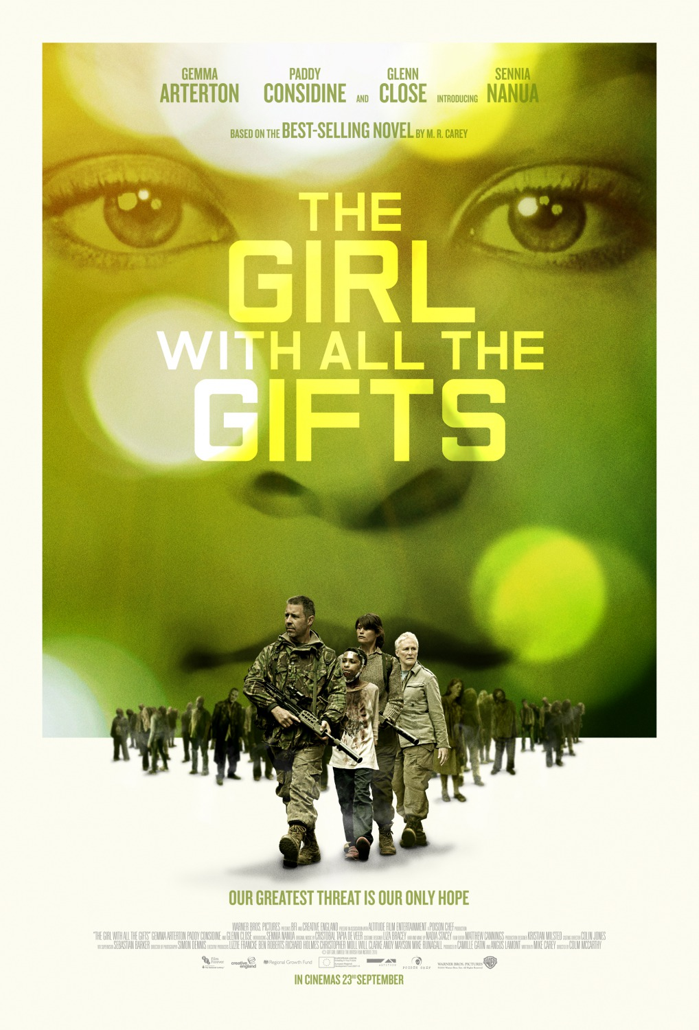 All The Girls Standing In The Line For The Bathroom: The Girl With All The Gifts Movie Poster : Teaser Trailer