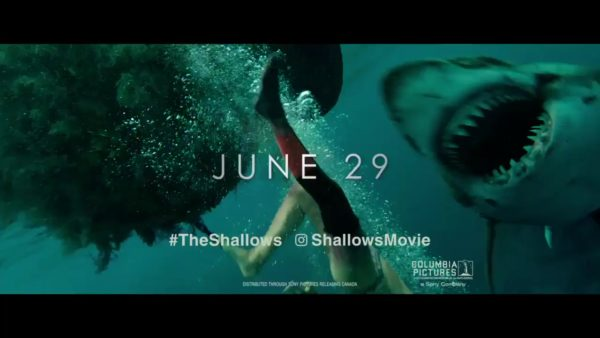 Poster and TV Spot of The Shallows, the shark attack movie starring ...
