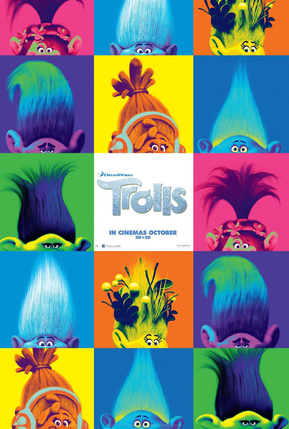 2 New International Posters For Dreamworks Animation S Trolls