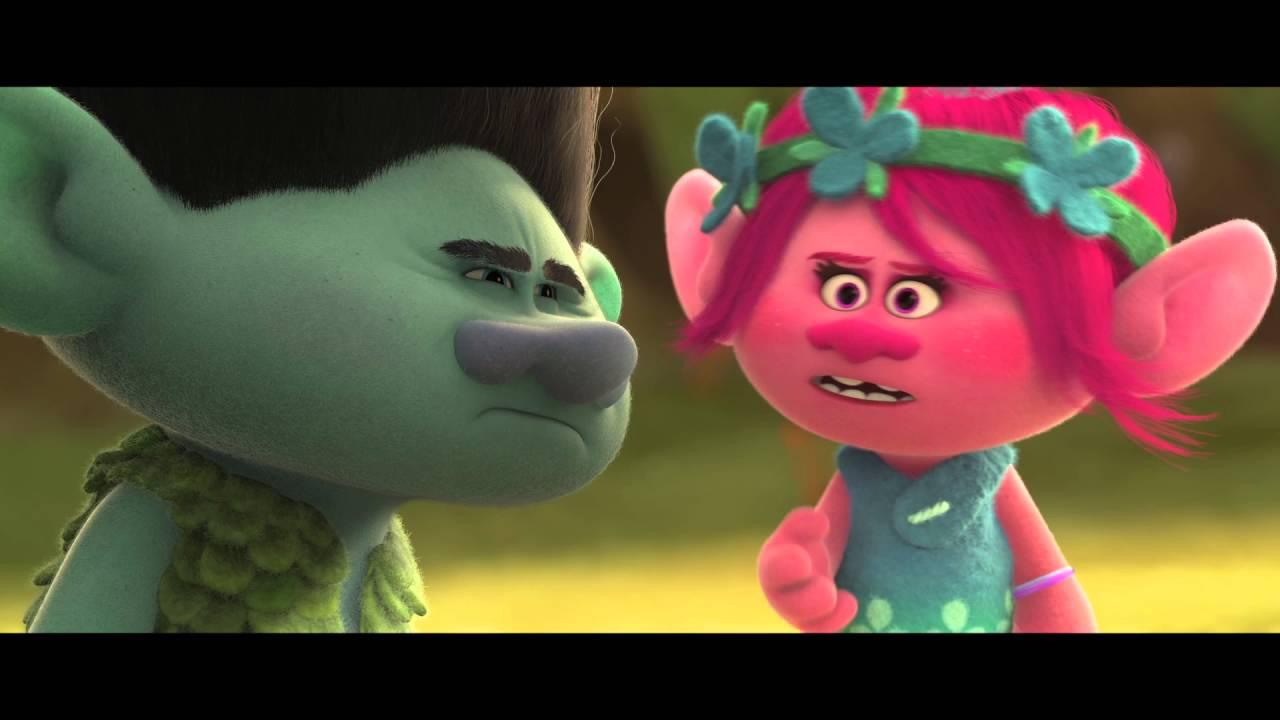 2 Clips of Trolls : Teaser Trailer