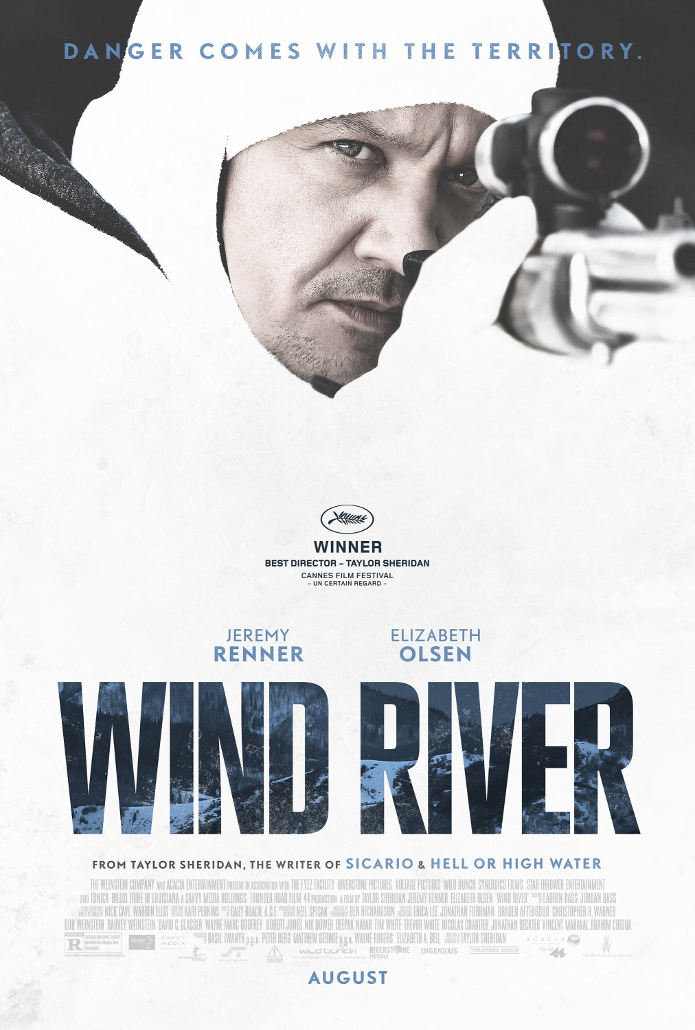 Image result for wind river movie poster