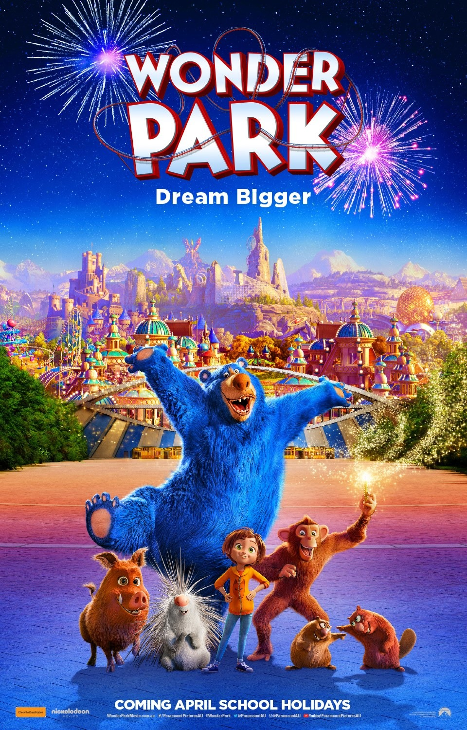 Wonder Park Movie Poster Teaser Trailer