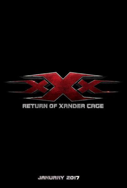 xXx 3 Return of Xander Cage movie Teaser poster